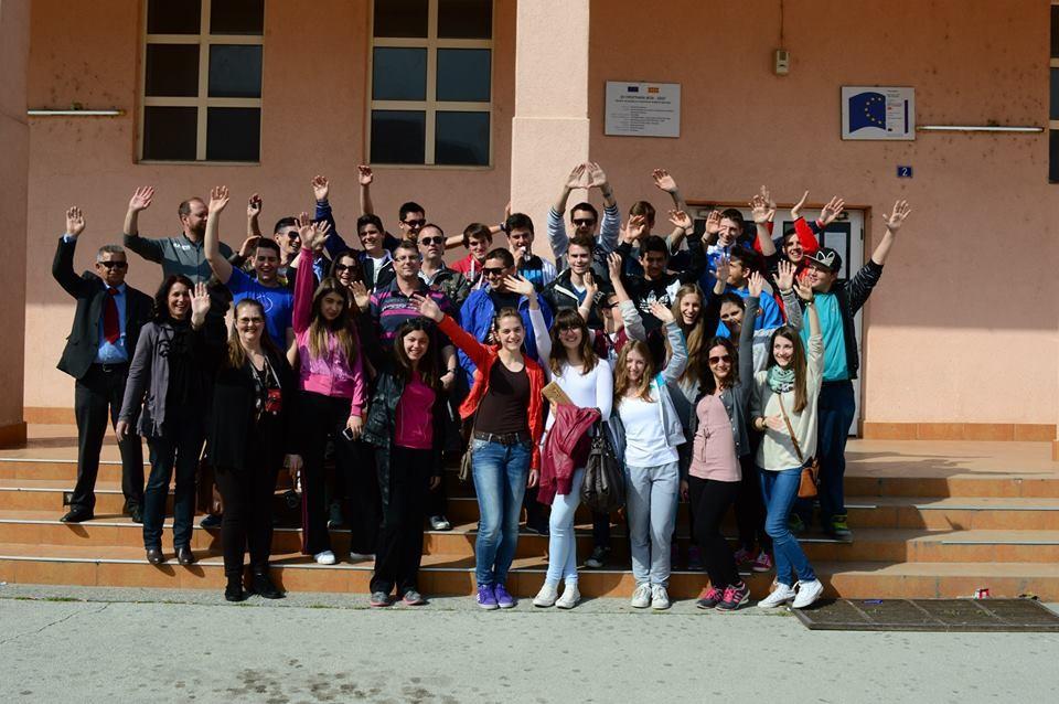 Učenici posjetili školu u Makedoniji