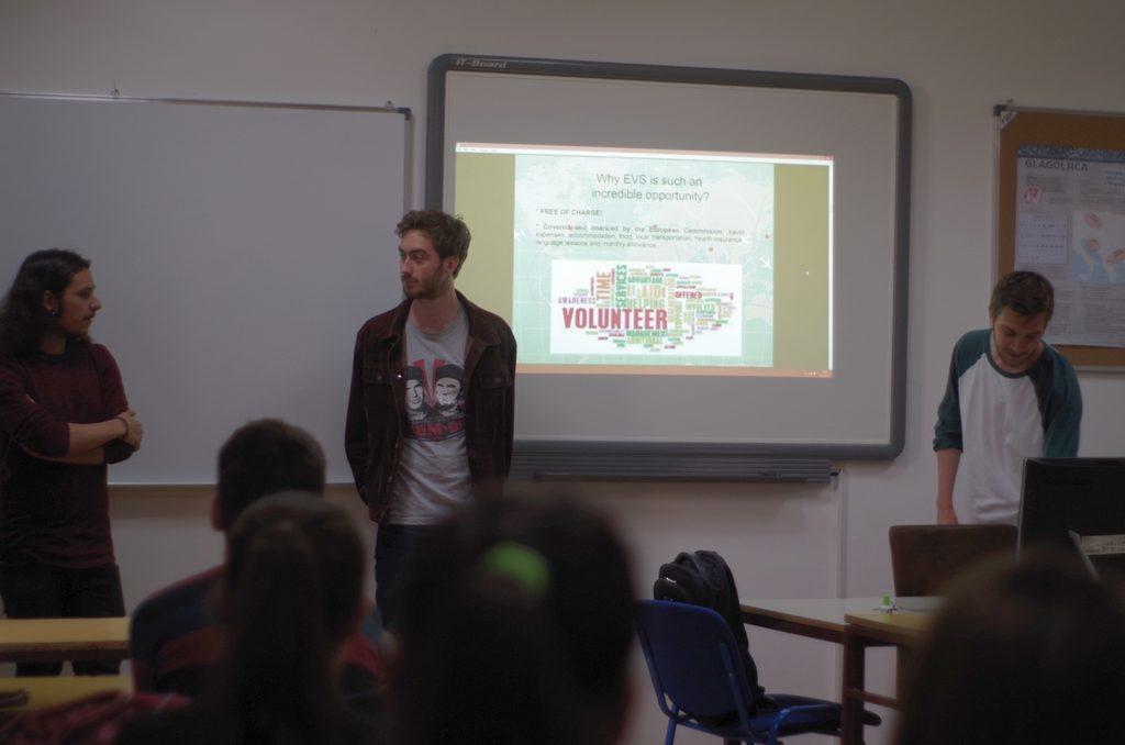 Upoznavanje mladih s mogućnostima uključivanja u aktivan građanski život