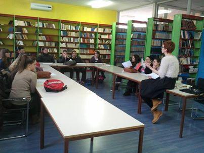 Projekt Umjetnosti demokracije u Srednjoj školi Obrovac