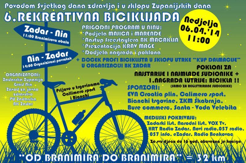 6. biciklijada od Branimira do Branimira