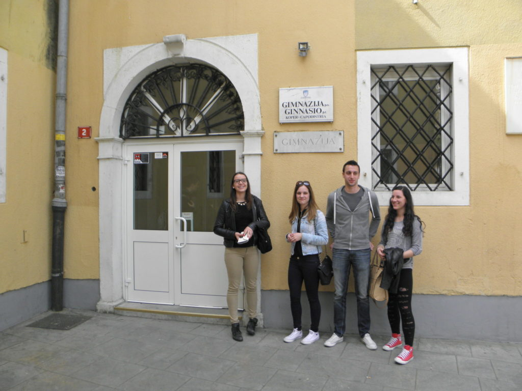 Naši učenici u posjeti Gimnaziji u Kopru