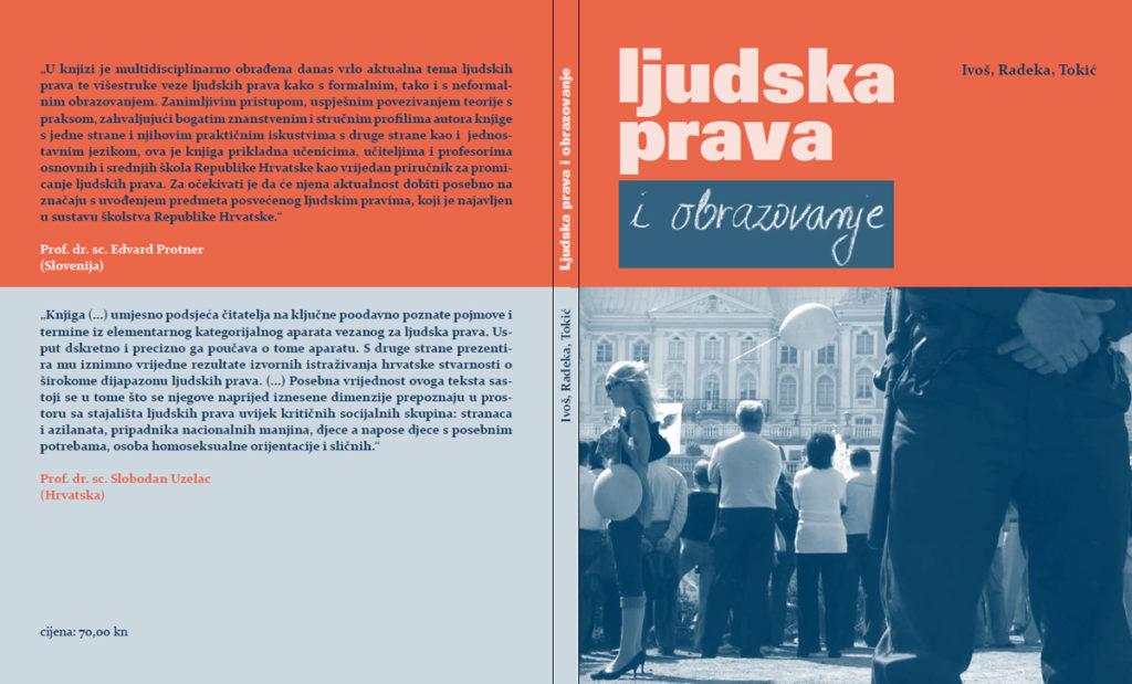 Ljudska prava i obrazovanje priručnik u izdanju Srednje škole Obrovac