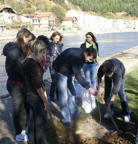 Srednja škola Obrovac u projektu »Murva«