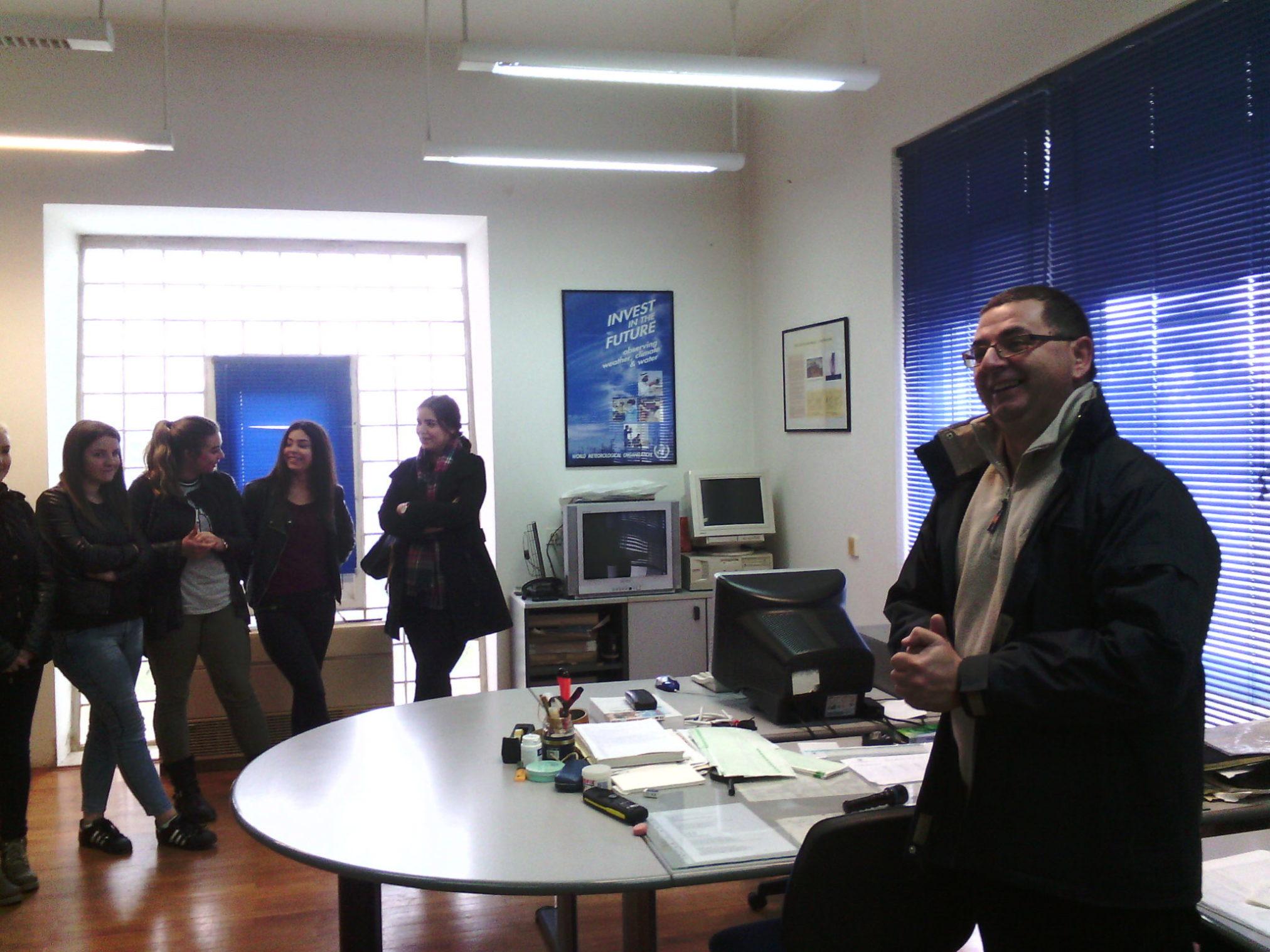 Naša škola posjetila je postaju Državnog hidrometeorološkog zavoda u Zadru