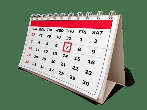 KALENDAR pomoćničkih ispita za razdoblje od lipnja 2015. do ožujka 2016.
